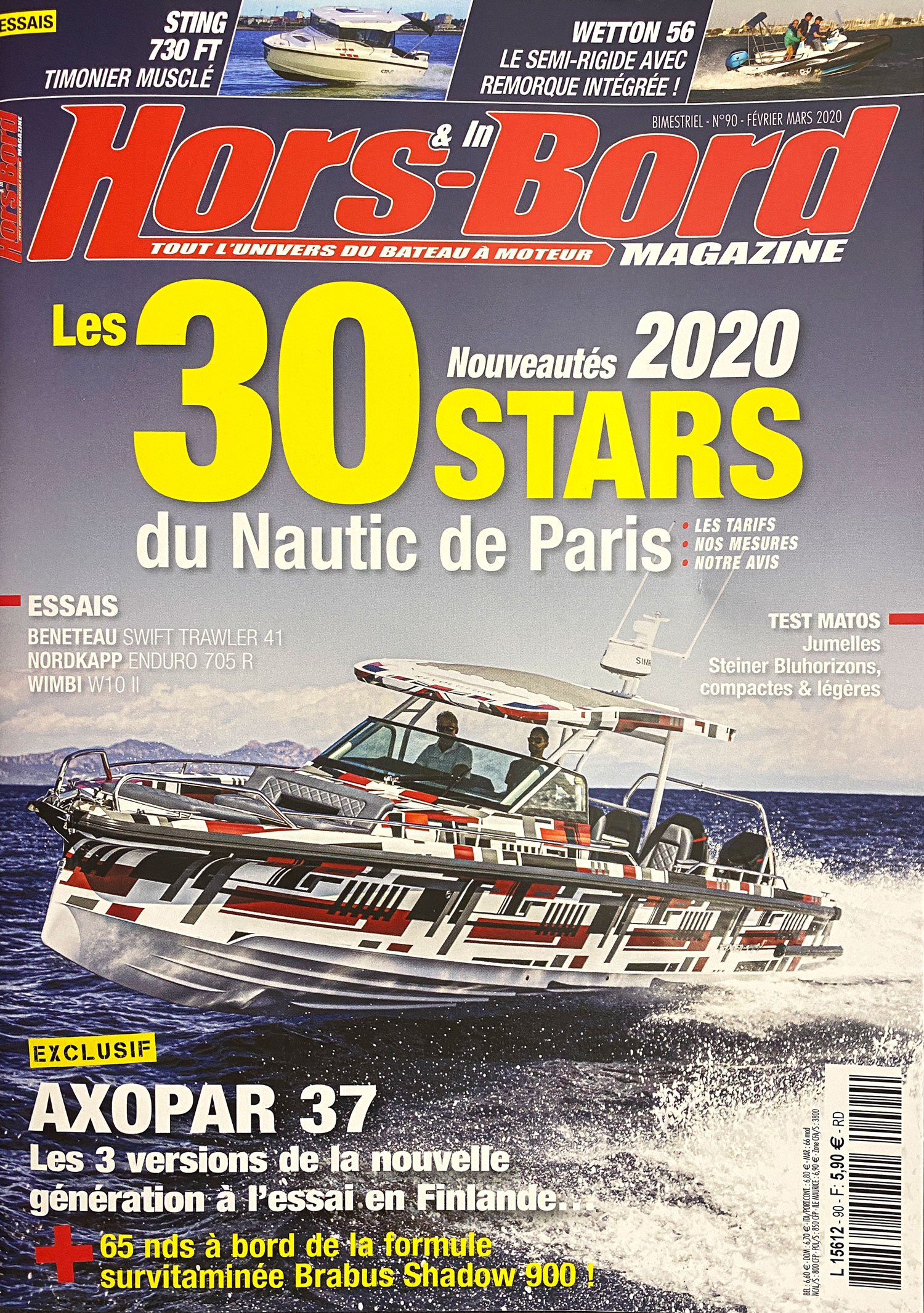 Couverture Hors & In-board magazine
